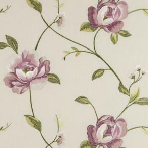 Tatton Linens Alderley Rose Curtain Fabric