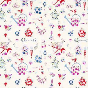 Clarke and Clarke Blighty Allotment Multi Curtain Fabric