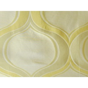 Hawaii Aloha Champagne Curtain Fabric