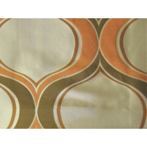 Hawaii Aloha Cinnamon Curtain Fabric