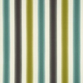 Clarke and Clarke Batik Amba Chartreuse-charcoal Curtain Fabric