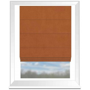Clarke and Clarke Altea Amber Roman Blind
