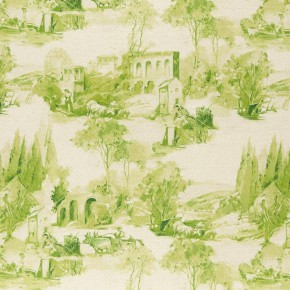 Clarke and Clarke  Colony Anastacia Citron Curtain Fabric
