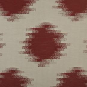 Prestigious Clarke Cosmopolitan Anatolia Redwood Curtain Fabric