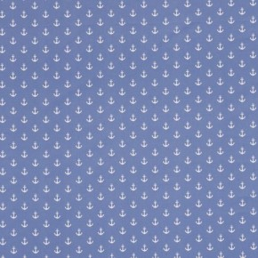 Clarke and Clarke Storybook Anchors Blue Made to Measure Curtains