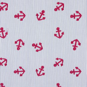 Prestigious Textiles Be Happy AnchorsAway Marine Roman Blind