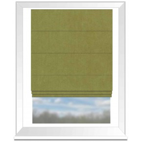 Clarke and Clarke Altea Apple Roman Blind