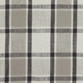 Prestigious Textiles Ayrshire Arran Charcoal Curtain Fabric