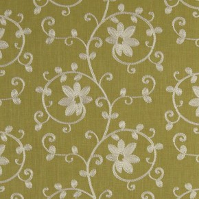 Tatton Linens Ashley Apple Curtain Fabric