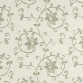 Tatton Linens Ashley Eau De Nil Made to Measure Curtains