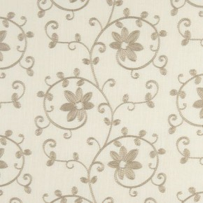 Tatton Linens Ashley Natural Curtain Fabric