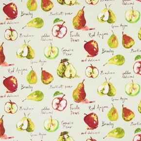 Country Fair Autumn Fruit Linen Roman Blind