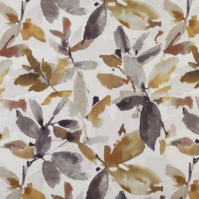 Prestigious Textiles Iona Azzuro Umber Curtain Fabric