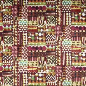 A Prestigious Textiles Decadence Baccarat Medici Curtain Fabric