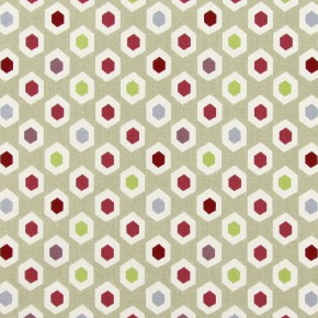 Paradise Bahia Pomegranate Made to Measure Curtains