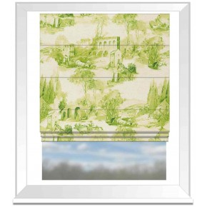 Clarke and Clarke Colony Anastacia Citron Roman Blind