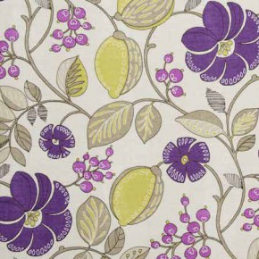 Clarke and Clarke Blighty Banbury Berry Curtain Fabric