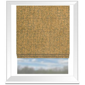 Clarke and Clarke Colony Anguilla Harvest Roman Blind