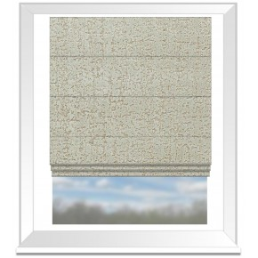 Clarke and Clarke Colony Anguilla Taupe Roman Blind