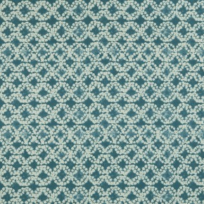 Batik Batik Aqua Curtain Fabric