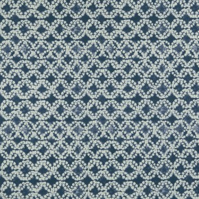Batik Batik Indigo Curtain Fabric