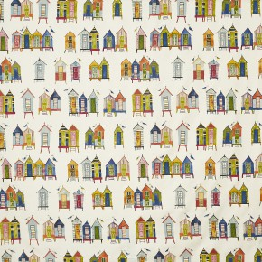A Prestigious Textiles Beachcomber Beach Hut Neopolitan Made to Measure Curtains