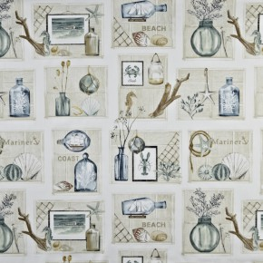 A Prestigious Textiles Coast Beachcomber SeaSpray Curtain Fabric
