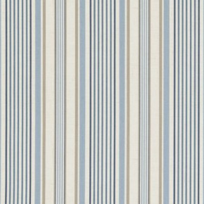 Clarke and Clarke Genevieve Belle Chambray Curtain Fabric