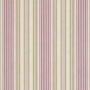 Clarke and Clarke Genevieve Belle Mulberry Curtain Fabric