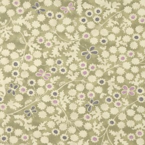 Bloomsbury Berwick Trail Olive Curtain Fabric