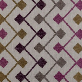 Clarke and Clarke Bukhara Bijar Berry Made to Measure Curtains