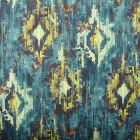 A Prestigious Textiles Decadence Bohemia Adriatic Curtain Fabric
