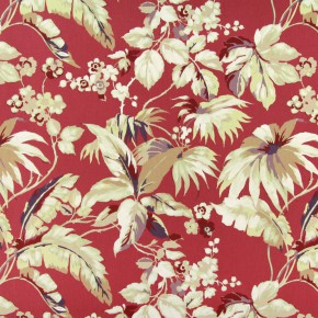 Paradise Borneo Pomegranate Curtain Fabric