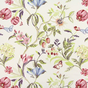 Paradise Botanica Pomegranate Curtain Fabric