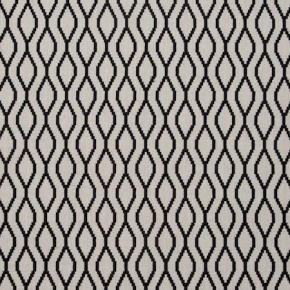 Traviata Brenna Ebony Curtain Fabric