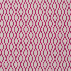 Clarke and Clarke Traviata Brenna Fuchsia Roman Blind