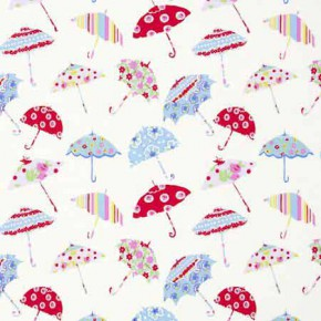 Clarke and Clarke Blighty Brollies Multi Curtain Fabric