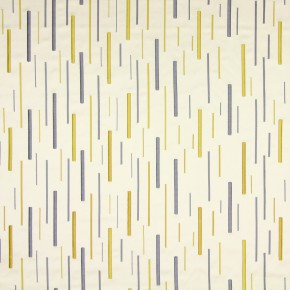 Metropolis Brooklyn Chartreuse Curtain Fabric