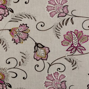 Clarke and Clarke Bukhara Bukhara Berry Made to Measure Curtains