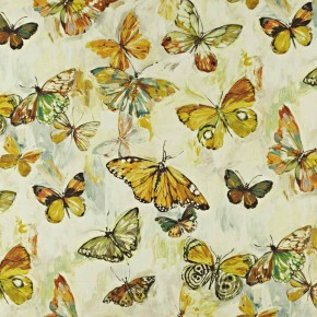Mardi Gras ButterflyCloud Pineapple Curtain Fabric