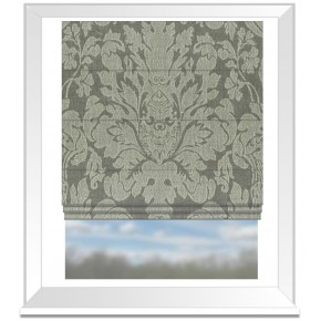 Clarke and Clarke Colony Valentina Ash Roman Blind