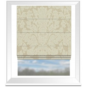 Clarke and Clarke Colony Valentina Natural Roman Blind