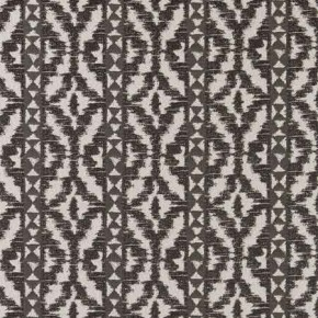Clarke and Clarke BW1005 Black and White Curtain Fabric