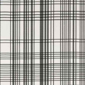 Clarke and Clarke BW1006 Black and White Curtain Fabric