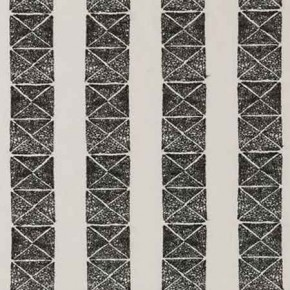 Clarke and Clarke BW1013 Black and White Curtain Fabric