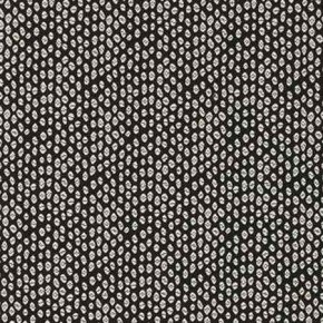 Clarke and Clarke BW1015 Black and White Curtain Fabric