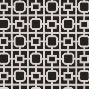 Clarke and Clarke BW1017 Black and White Curtain Fabric