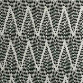 Clarke and Clarke BW1022 Black and White Curtain Fabric