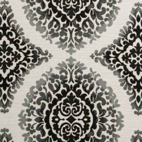 Clarke and Clarke BW1024 Black and White Curtain Fabric