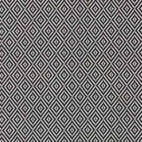 Clarke and Clarke BW1025 Black and White Curtain Fabric